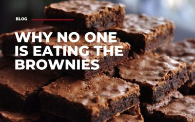 Why no one is eating the brownies
